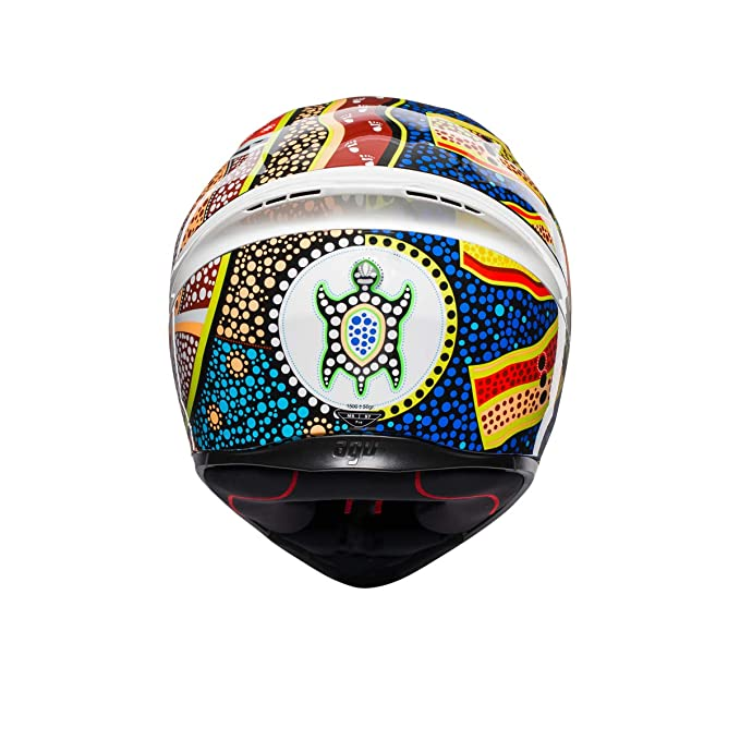 AGV Unisex-Adult Full Face K-1 Dreamtime Motorcycle Helmet Multi Small