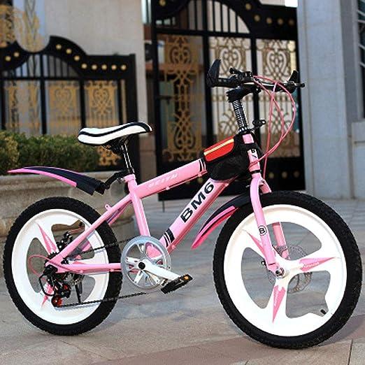 JH Bicicleta De Los Niños, De 20 Pulgadas De Acero Al Carbono De Bicicletas, 6-15 Años De Los Niños De Bicicletas Estudiante, Ciudad De Compras Al Aire Libre, Bicicleta De Montaña Velocidad,1: