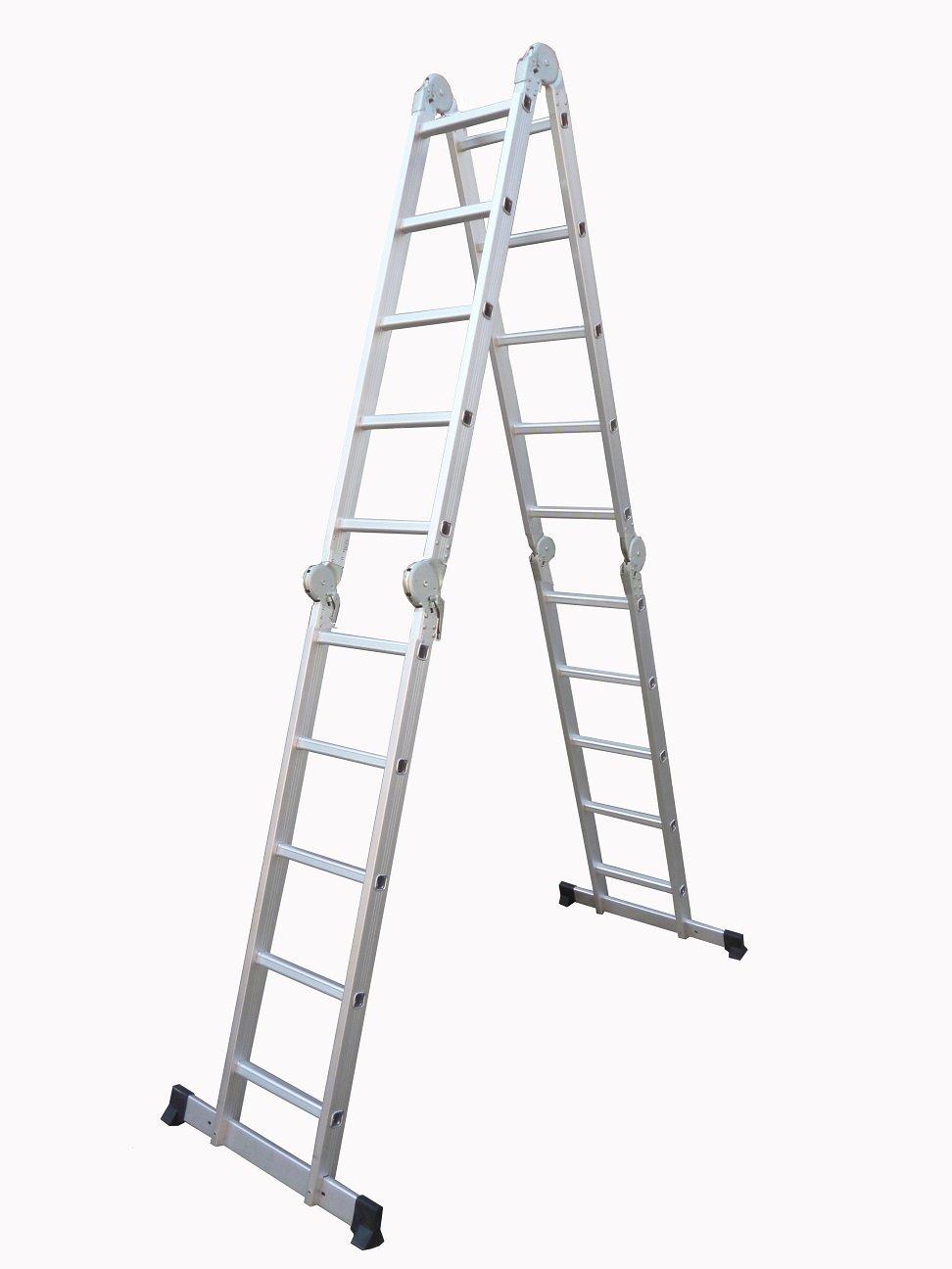 Profi 8-20 Stufen Mehrzweckleiter Leiter Aluleiter Steigleiter Klappleiter Bockleiter Alu Malerleiter 4x5 Stufen