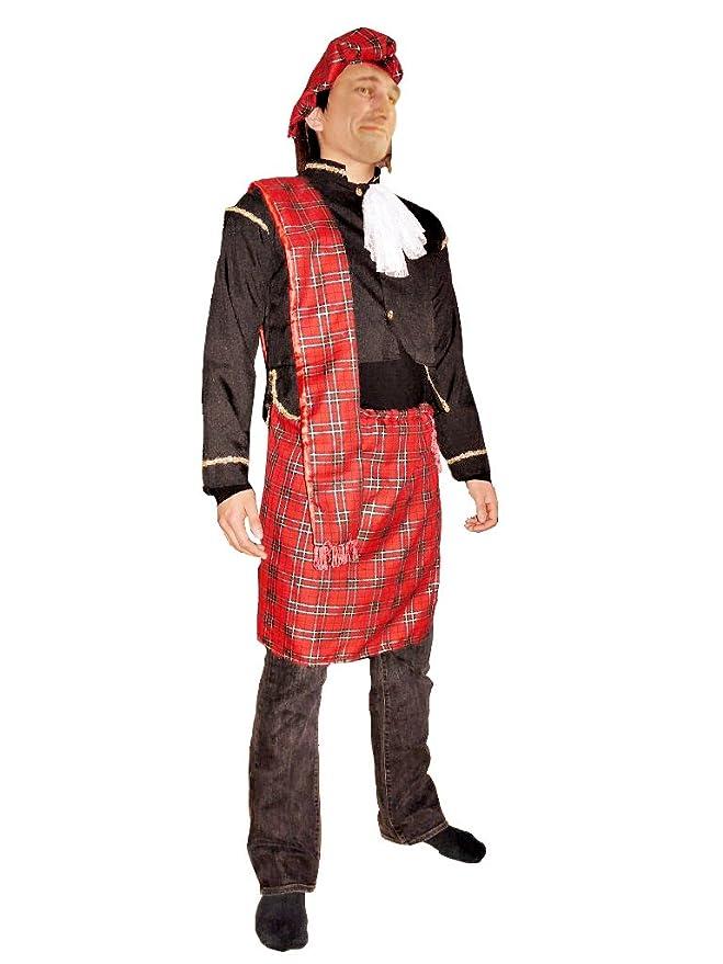 TO64 M/L Disfraz de escocés con falda. Escocés. Escoceces. Disfraz ...