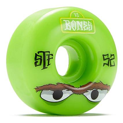 Bones Rueda para Skate Street Mean Greens V1-52Mm Verde (Default, Verde)