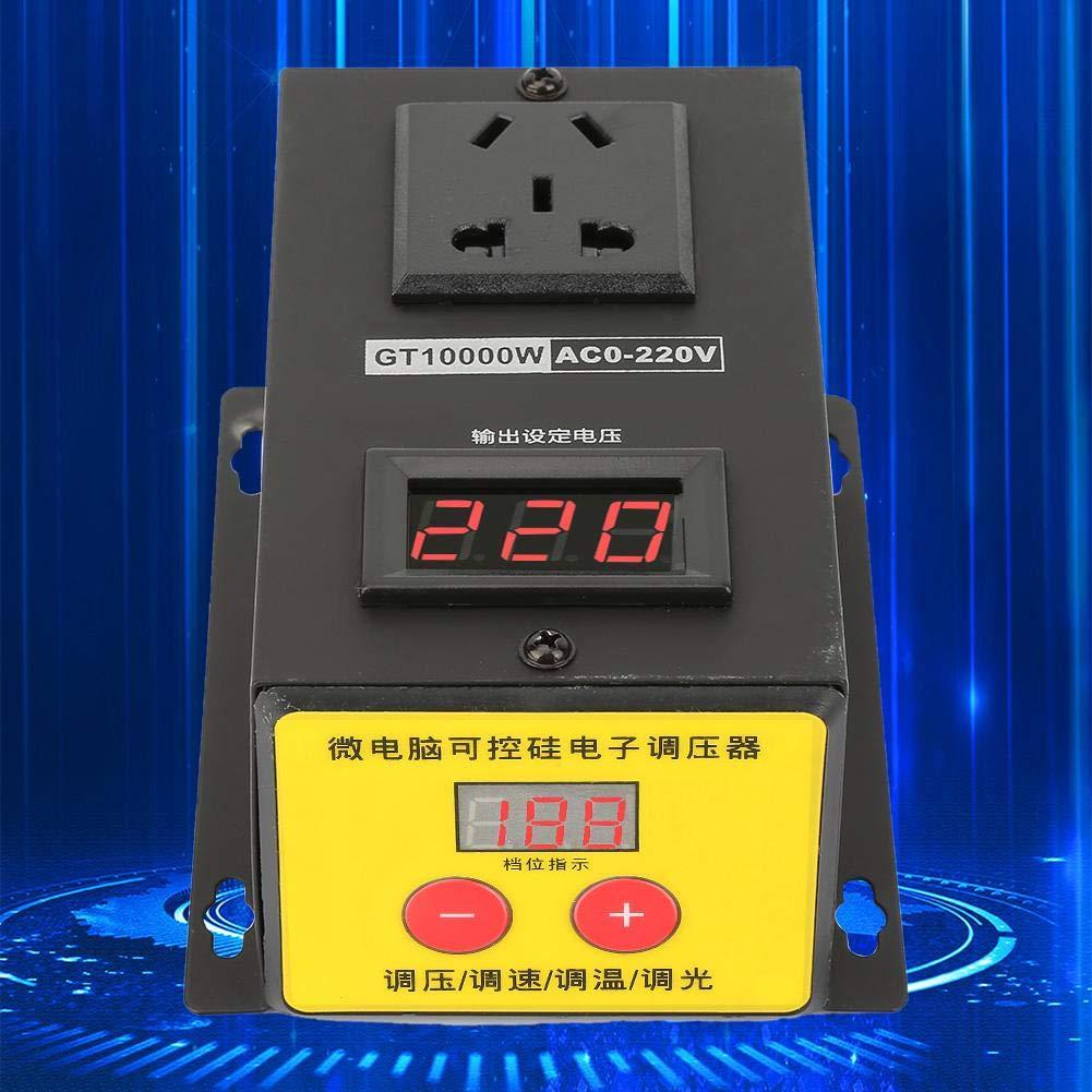 Transformateur Electronique de R/égulateur de Tension /à Thyristor R/églable de Haute Pr/écision 10000W pour Les Equipements Electriques R/égulateur de Tension /à CA 220V 10000W