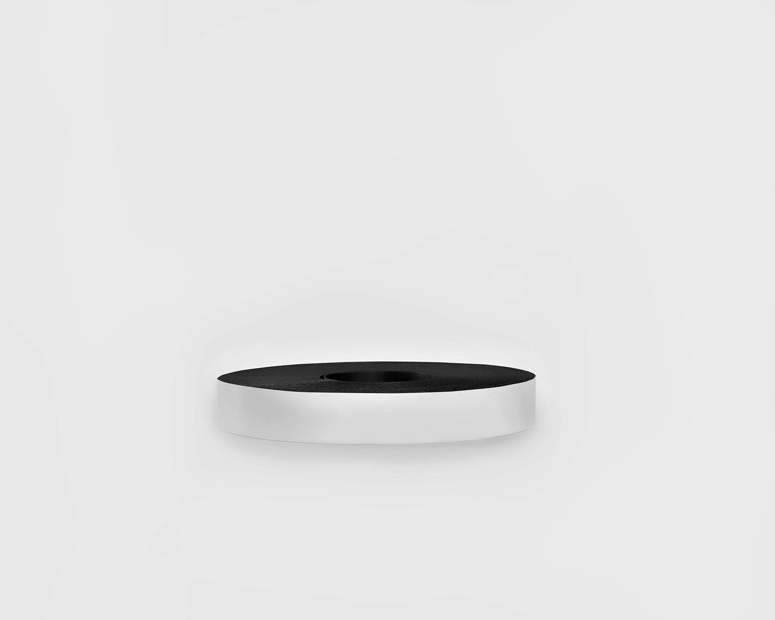 30 Mil Dry Erase Magnetic Strip Roll - White - 1'' X 100'