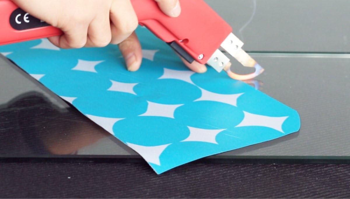 (Banner) endotherm knife,Powerful foam cutting knife, rope cloth plastic cutter Electric razor blades hot melt cutting tool