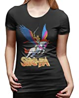 She Ra Princess Of Power Ladies Short Sleeve Casual Round Neck Tees Tops