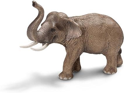 Amazon Com Schleich Asian Male Elephant Toy Figure Schleich