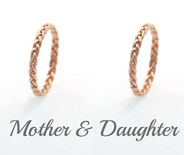 Mom And Daughter Matching Rings Acharyajpsingh