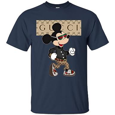 Gucci Mickey Mouse Stylish Navy2xl Amazoncouk Clothing