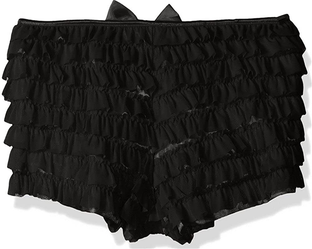 Daisy corsets Women's Corsets Mesh Ruffle Panty W/Bow