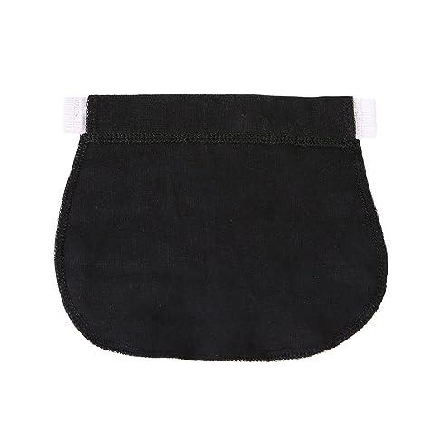 95e3a0204 Healifty Extensor de Cintura para Pantalones para Mujeres Embarazadas o Futura  Madre (Negro)
