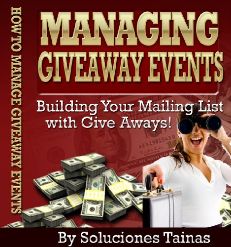 Amazon com: Managing Giveaway Events - (Marketing Online