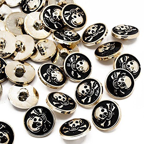 Pandahall Garment Fastening Buttons Acrylic