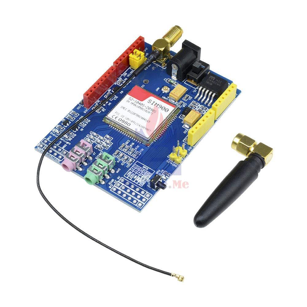 For Arduino SIM900 850//900//1800//1900 MHz GPRS//GSM Development Board Module