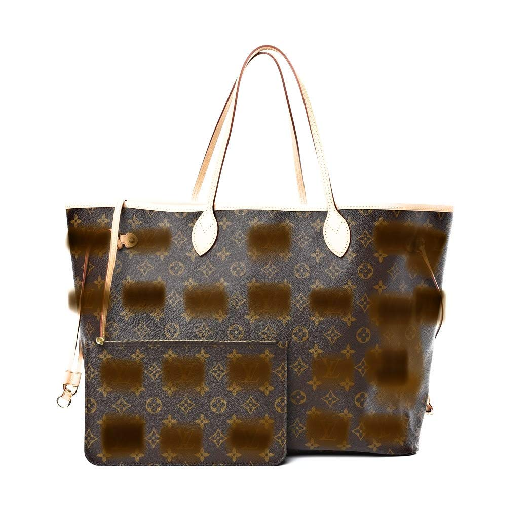 Neverfull Replica 1:1 | Box Included (GM, Monogram/Beige)