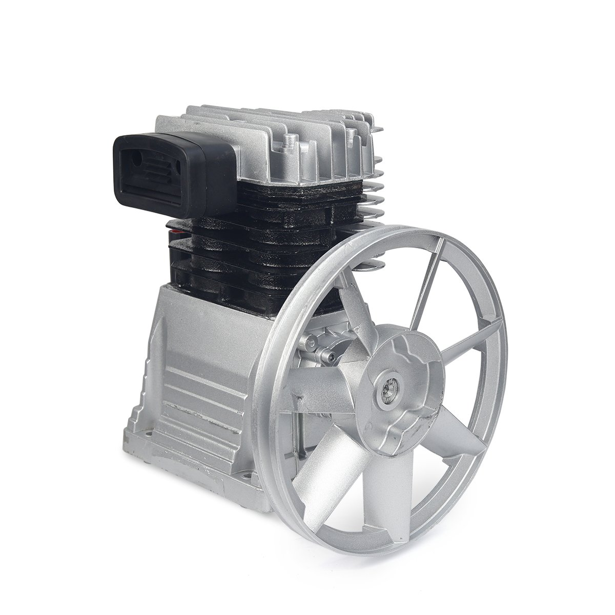 XtremepowerUS Pro Aluminium Air Compressor Pump 3 HP 11.5CFM 145PSI Pulley