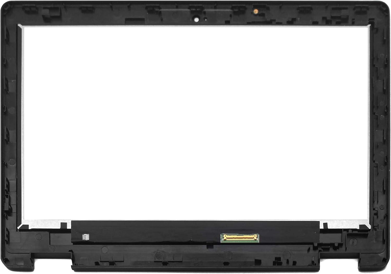 Versi/ón de Chromebook 1366x768 FTDLCD/® 11.6 Inch LED LCD Pantanlla T/áctil Digitalizador Asamblea con Marco Reemplazo de Computadora B116XAB01.4 para Acer Chromebook Spin 11 R751TN Series