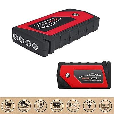 12V Multi-Function Portable Starter Voiture De Démarrage Mobile Power Chargeur 4USB Sortie Avec LED Lights 4 Modes Cuisine & Maison