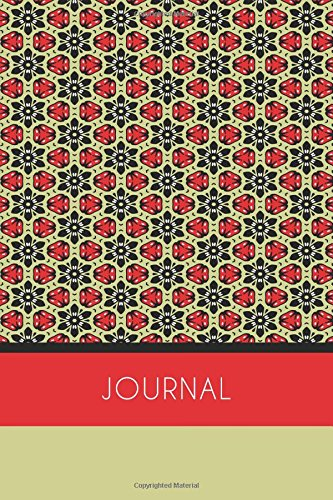 Journal (6x9 Journal): Red, Lightly Lined, 120 Pages, Perfect for Notes and Journaling ebook