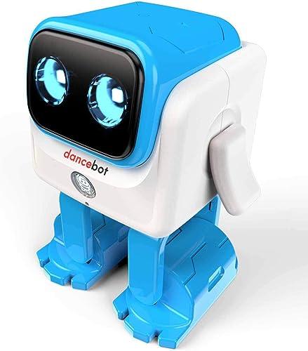 ECHEERS Dancebot Dancing Robot Toys Smart Robot Speaker Follow Beats Rhythm for Kids Age 3 and up Dancebot-Blue