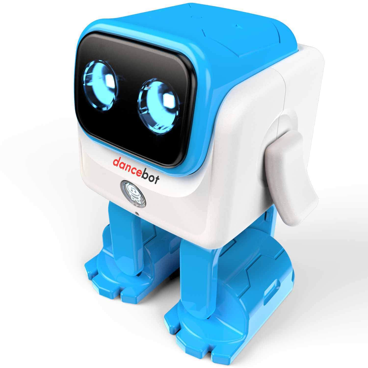 Echeers Kids Toys Dancing Robot for Boys and Girls, Educational Dancing Robot Toys for Kids with Stereo Bluetooth Speakers, Rechargeable Dance Robot Follow Music Beats Rhythm, All Age Children - Blue