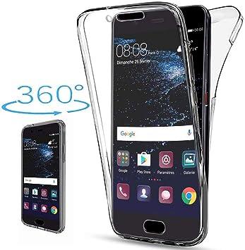 XCYYOO Funda 360 Grados Compatible con Huawei Y6 2019,Delantera ...