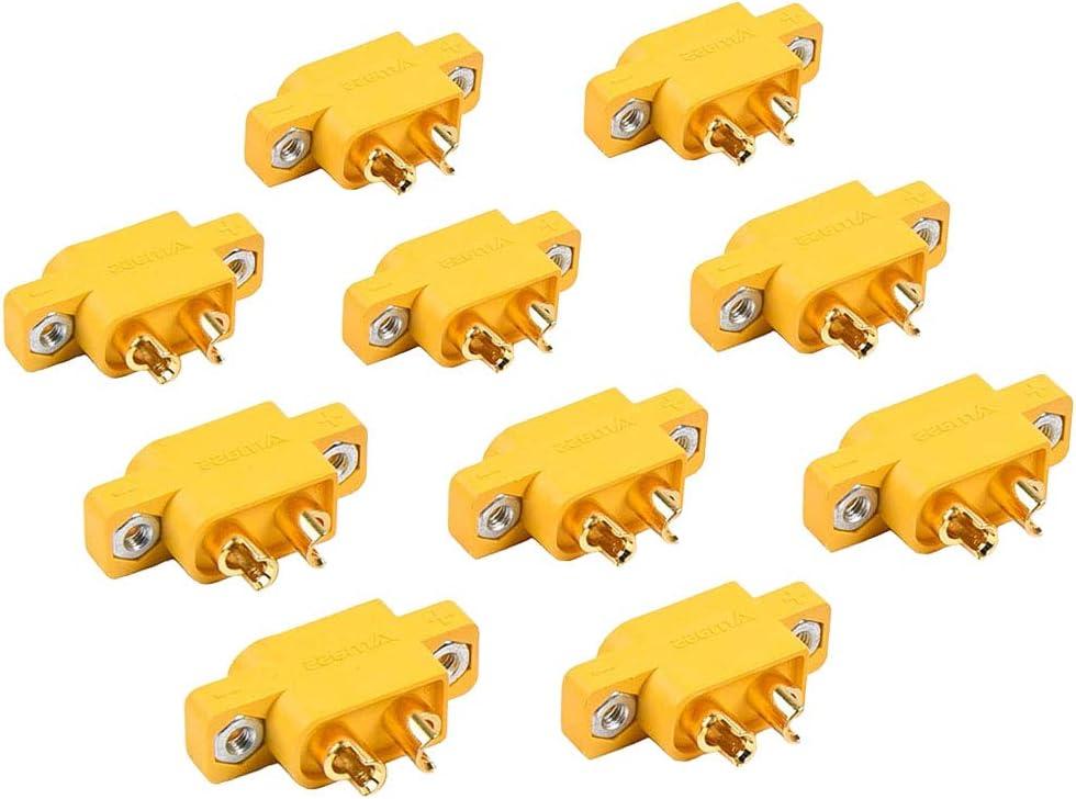 5 Paar EG 3 3 mm Weiblich Männlich Bananenstecker für RC ESC LIPO Akku Motor
