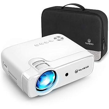 VANKYO Leisure 430 - Mini proyector, 4500 lúmenes con Pantalla de ...