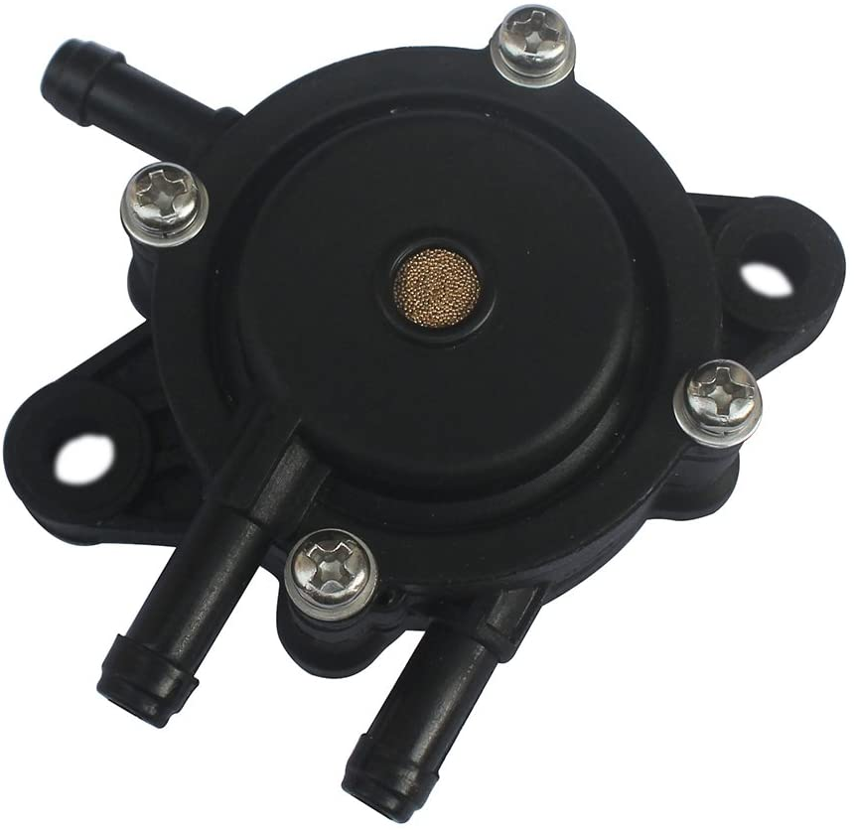 KIPA Fuel Pump for Briggs & Stratton 491922 808656,Kohler 2439304S 2439316S,Honda 16700-Z0J-003,Kawasaki 49040-7001,John Deere LG808656 M138498 M145667