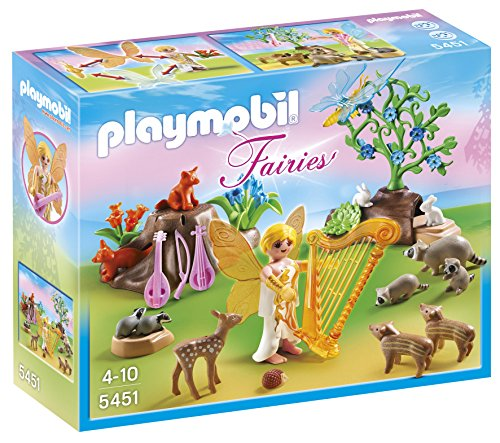 (PLAYMOBIL® Music Fairy with Woodland Creatures)
