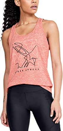 Under Armour Women's Tech Graphic Twist Tank Top