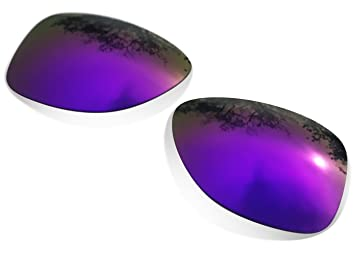sunglasses restorer Lentes de Recambio Polarizadas Espejo Morado para Oakley Frogskins