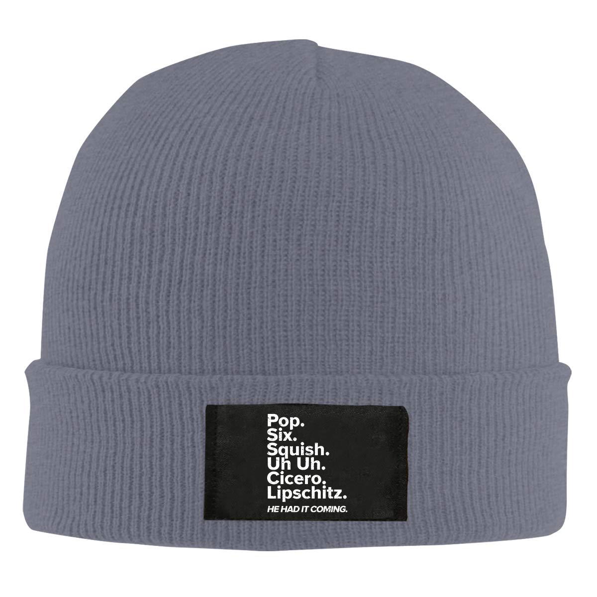 Cell Block Musical Theatre Rehearsal Men Women Knitted Hat Soft Pure Color Hat