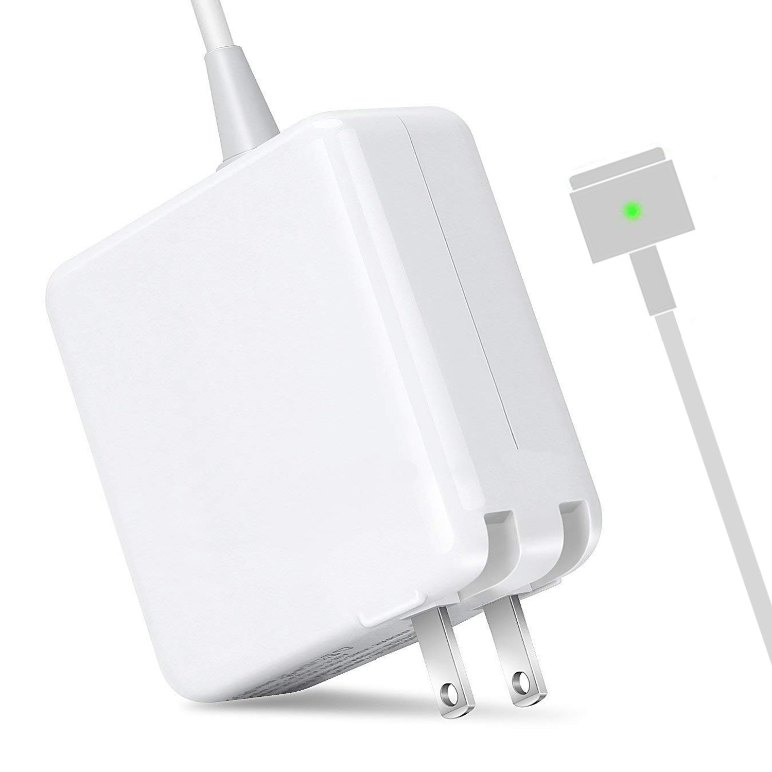 MOFANG FAMILY Macbook Air Charger, Replacement 45W Magsafe 2 T-tip Power Adapter for Apple Macbook Air 11 inch and 13-inch (45TM2)