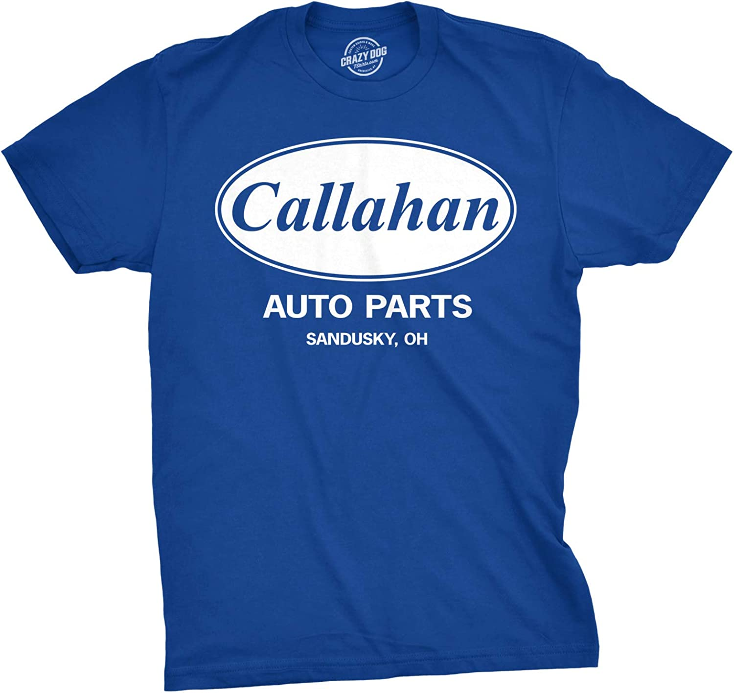 Mens Callahan Auto T Shirt Funny Shirts Cool Humor Graphic Saying Sarcasm Tee
