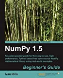 NumPy 1. 5, Ivan Idris, 1849515301