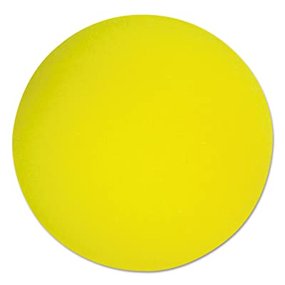 "Champion Sports - Uncoated Regular-Density Foam Balls, 4"" Diameter, Yellow RD4 (DMi EA: Office Products"