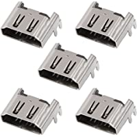 Serounder 5Pcs Replacement HDMI Port Interface Connector Socket for Sony Playstation 4 PS4 Motherboard Console