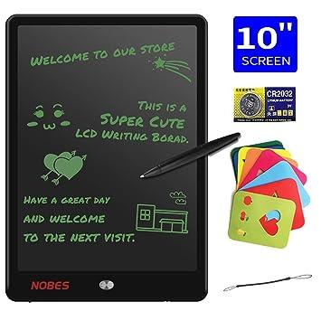 NOBES Tablette d\'écriture LCD 10 Pouces, Ardoise Magique Tableau ...