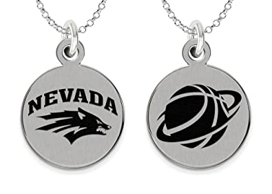 c2f9886d2 Image Unavailable. Image not available for. Color: College Jewelry Nevada  Reno Wolf Pack Basketball Charm