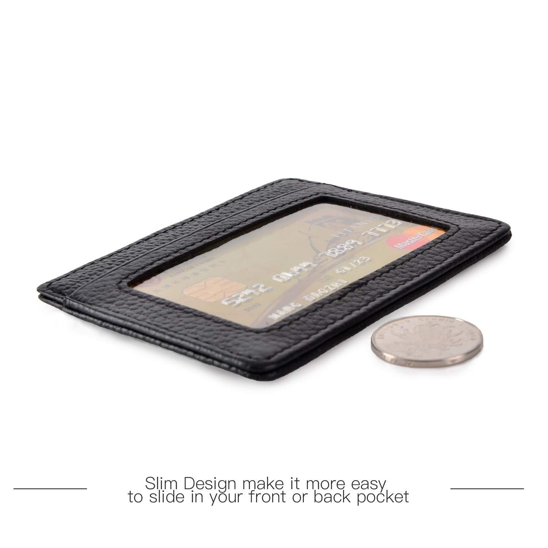 Amazon.com: RFID - Tarjetero para mujeres y hombres, delgado ...