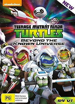 Teenage Mutant Ninja Turtles S4 Vol 1 - Beyond The Known ...