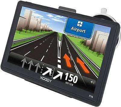 Xgody - Navegador GPS para Coche, Pantalla táctil capacitiva de 7 ...