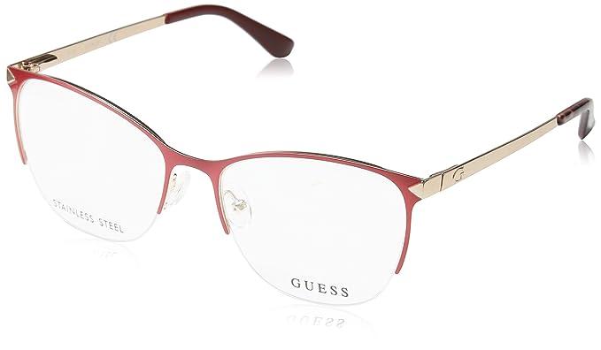 Guess GU2666 Monturas de gafas, Rosa (Fucsia Luc), 53.0 ...