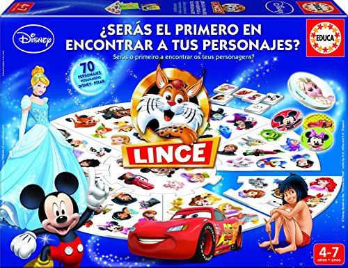 Educa Lince 16585 Juego De Mesa Con Diseno Disney Amazon Es