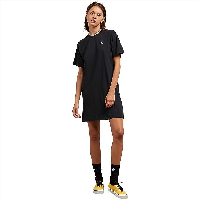 Amazon.com: Volcom mujeres novio Me Tee Vestido: Clothing
