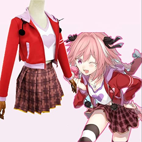 GGOODD Fate Apocrypha Astolfo Japonés Anime Disfraz De Cosplay ...