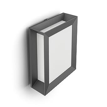 Philips Luminaire Extérieur Led Applique Murale Karp Anthracite