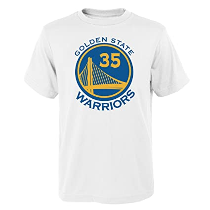 441b3d7c4 Outerstuff Kevin Durant Golden State Warriors  35 NBA Youth Name   Number T- Shirt