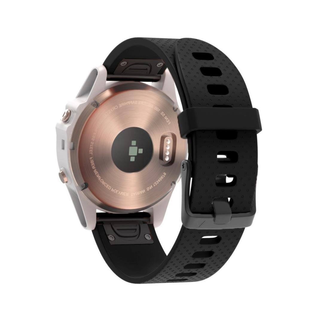 Amazon.com : For Garmin Fenix 5S Plus-Becoler Soft Silicone ...