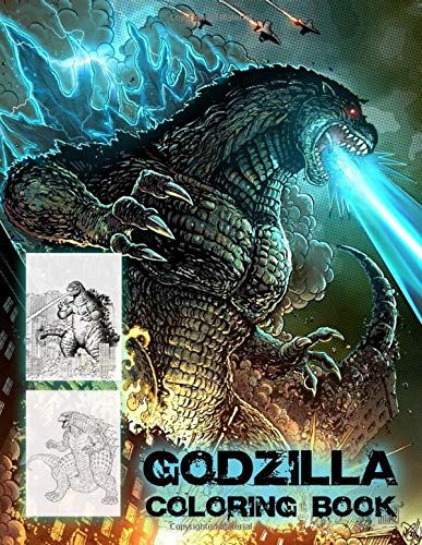 Pdf Crafts Godzilla Coloring Book